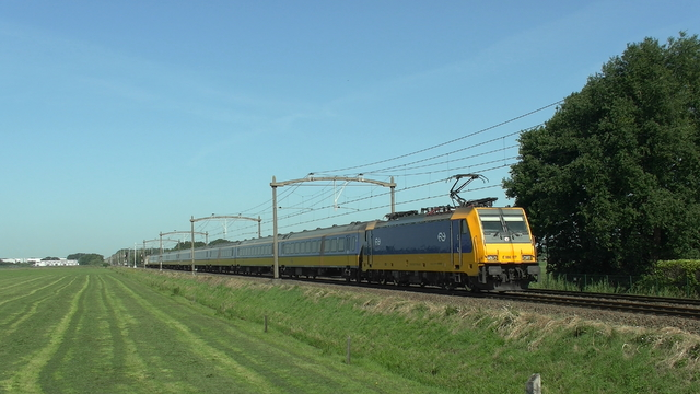 Photo of NS Bombardier TRAXX 186117 Electrische locomotief by RailNationYT