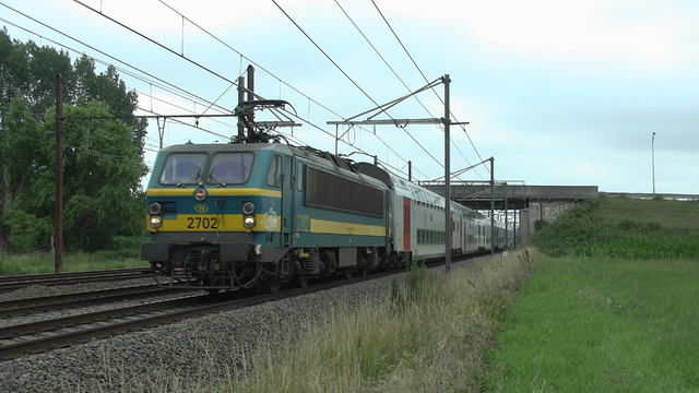 Photo of NMBS HLE27 2702 Electrische locomotief by RailNationYT