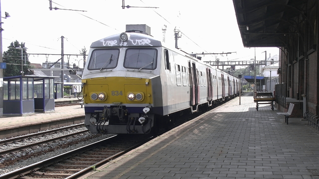 Photo of NMBS MS75 834 Electrisch treinstel by RailNationYT