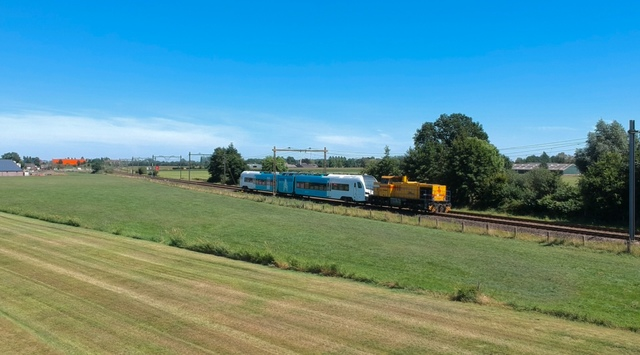 Photo of Strukton MaK G 1206 303008 Diesel locomotief by SpoorwegenSoest