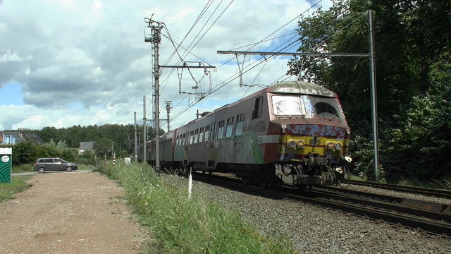 Photo of NMBS MS75 835 Electrisch treinstel by RailNationYT