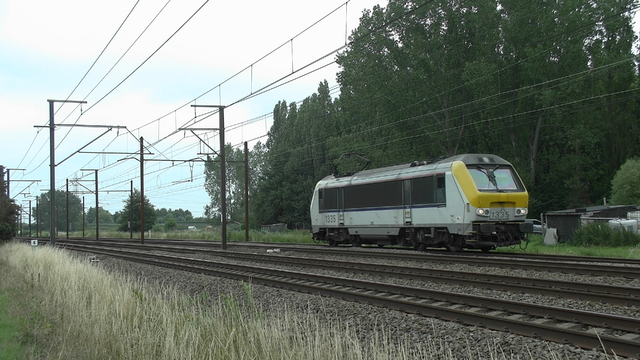 Photo of NMBS HLE13 1335 Electrische locomotief by RailNationYT