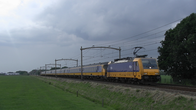 Photo of NS Bombardier TRAXX 186116 Electrische locomotief by RailNationYT