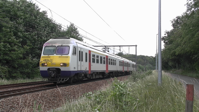 Photo of NMBS MS80 315 Electrisch treinstel by RailNationYT