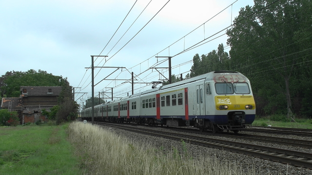 Photo of NMBS MS80 439 Electrisch treinstel by RailNationYT