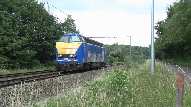Photo of Infrabel HLD 62 6312 Diesel locomotief by RailNationYT