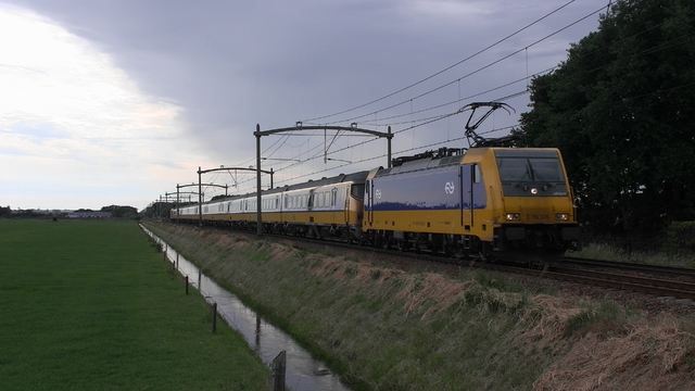 Photo of NS Bombardier TRAXX 186020 Electrische locomotief by RailNationYT