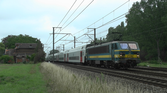 Photo of NMBS HLE21 2134 Electrische locomotief by RailNationYT